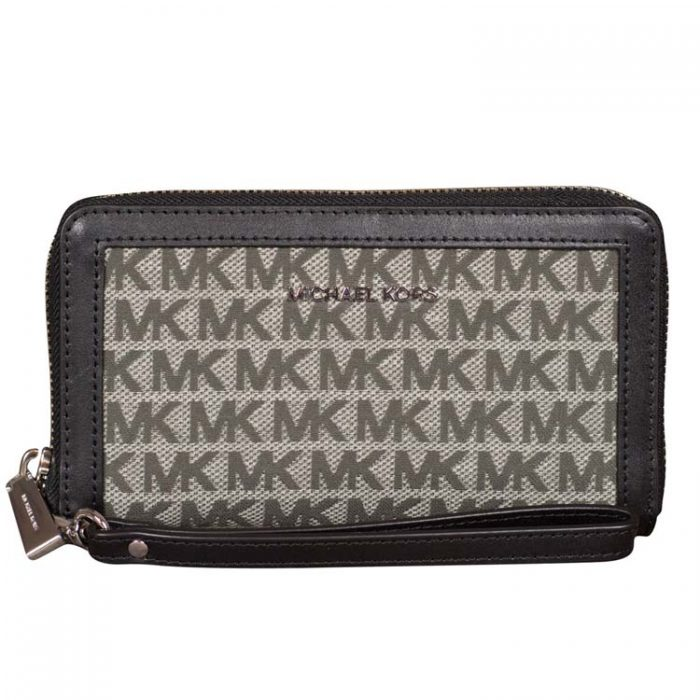 Michael Kors Large MF Phone Case in Graphite