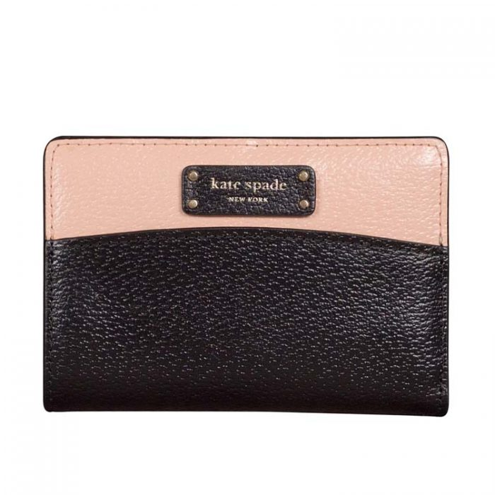 Kate Spade Medium Jeanne Slim Bifold Wallet in Warm Vellum