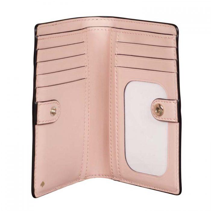 Kate Spade Medium Jeanne Slim Bifold Wallet in Warm Vellum