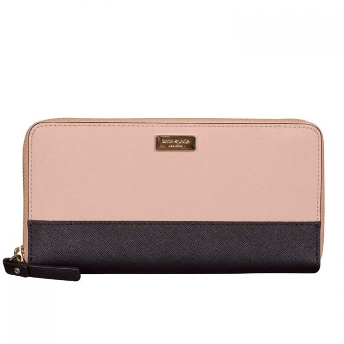 Kate Spade Laurel Way Neda Wallet in Warm Vellum