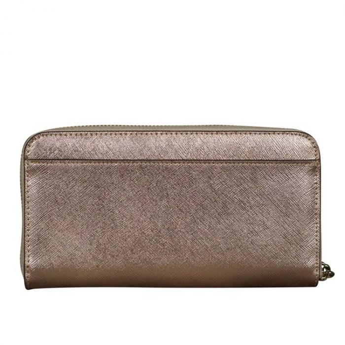 Kate Spade Large Staci Continental Wallet in Rose Gold