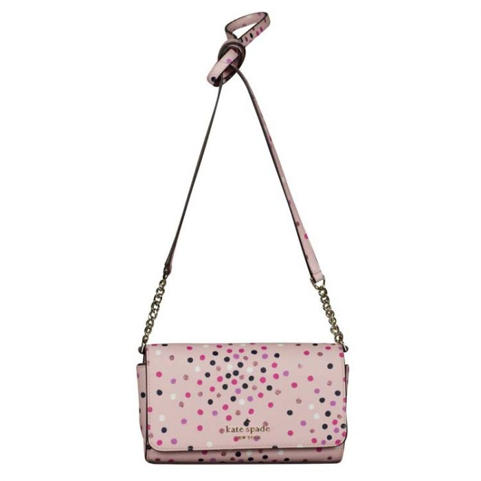 Kate Spade Small Staci Festive Confetti Crossbody Bag