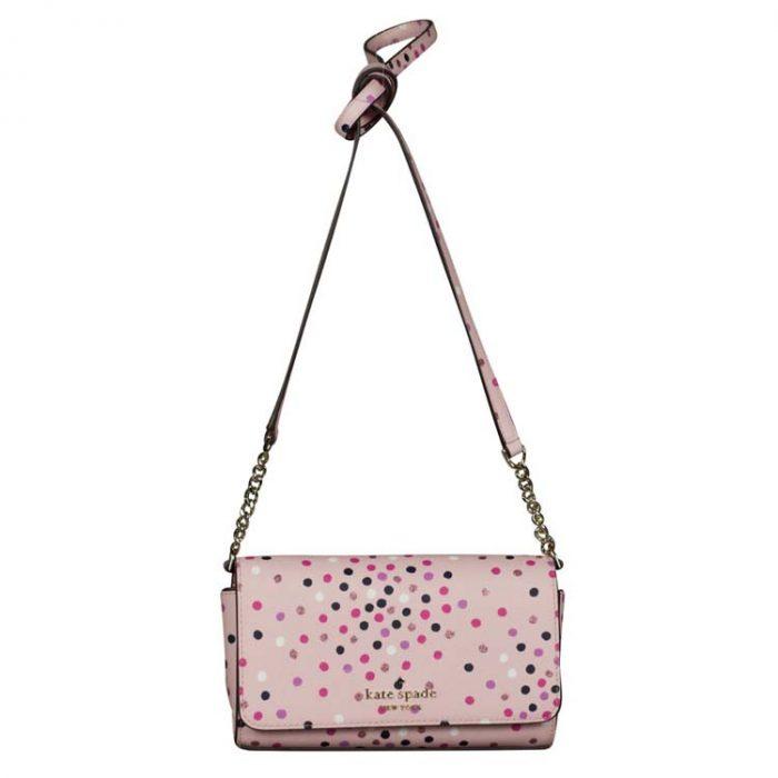 Kate Spade Small Staci Festive Confetti Crossbody Bag