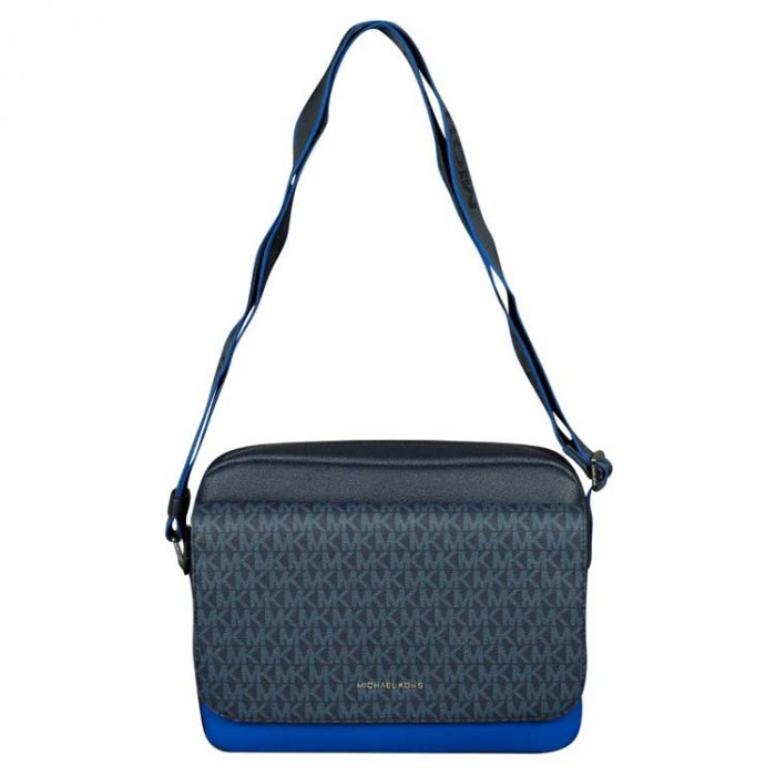 Michael Kors Cooper Flap Camera Bag in Admiral Atlantic Blue