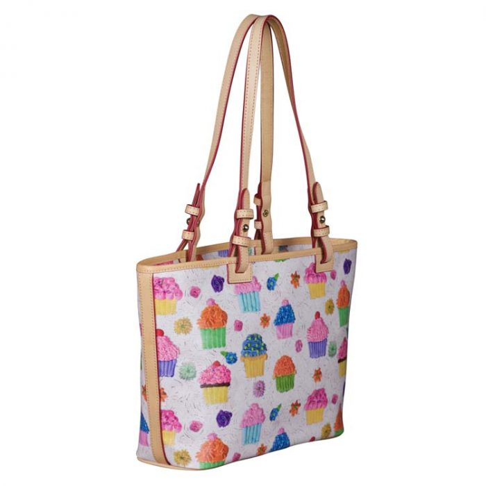 Dooney and Bourke Small Cupcake Leisure Shopper