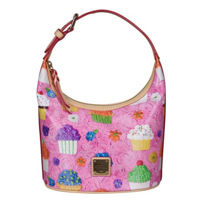 Dooney and Bourke Cupcake Bucket Bag in Pink