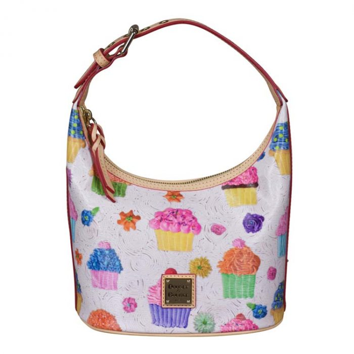 Dooney and Bourke Cupcake Bucket Bag in White