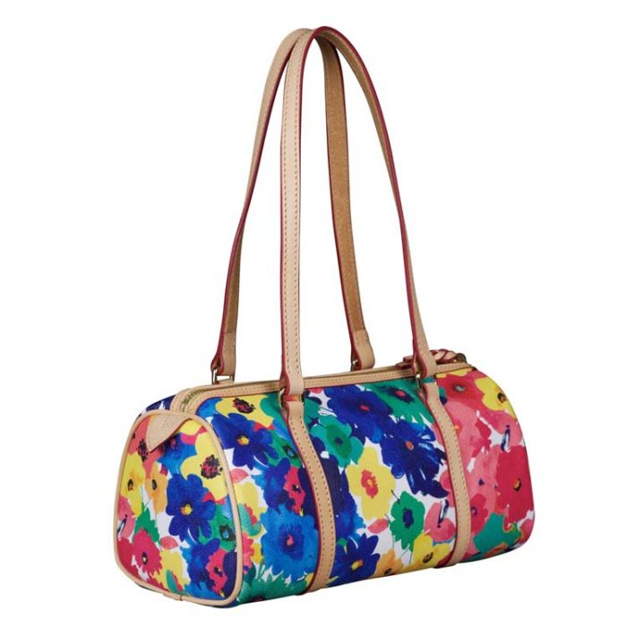 Dooney and Bourke Flower Barrel Bag