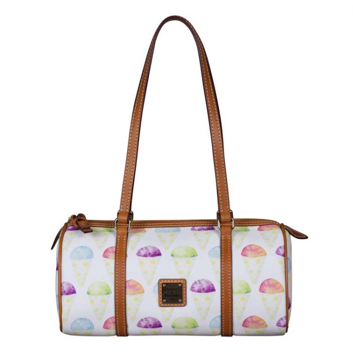 Dooney and Bourke Ice Cream Cone Barrel Bag