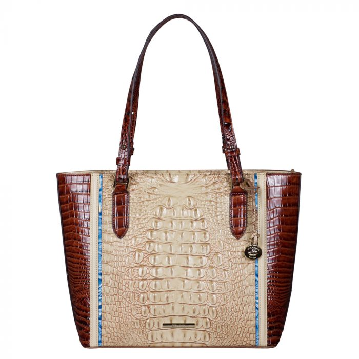 Brahmin Medium Misha Tote in Sand Santana