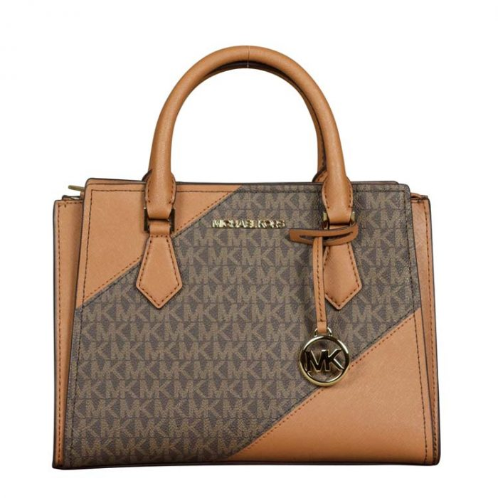 Michael Kors Medium Hope Messenger in Brown