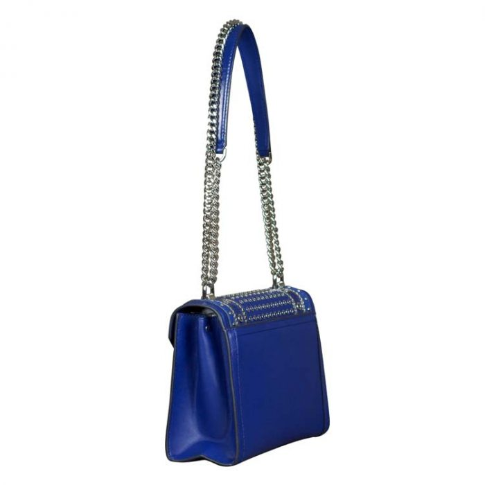 Michael Kors Large Whitney Shoulder Bag in Sapphire