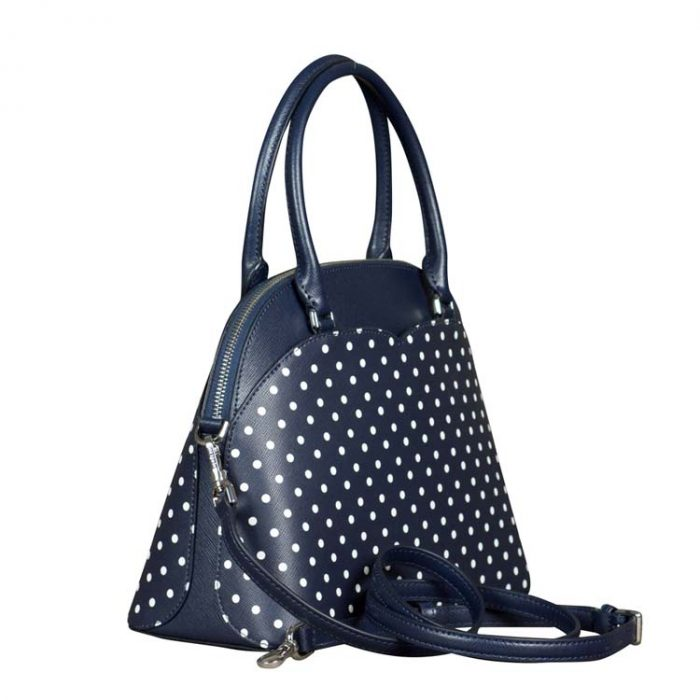 Kate Spade Medium Payton Micro Dot Dome Satchel