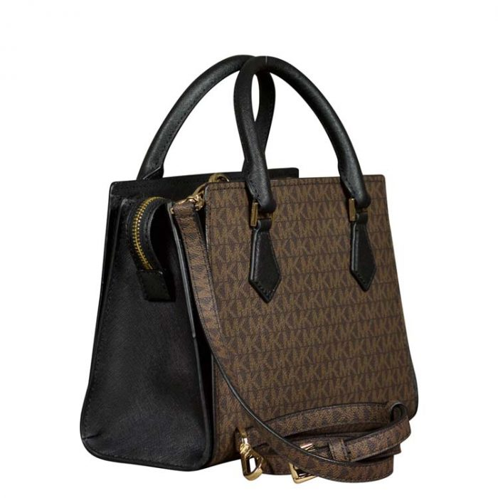 Michael Kors Medium Hope Messenger in Black