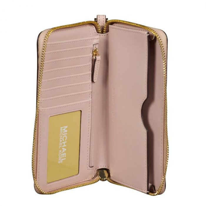 Michael Kors Large Jet Set Phone Case in Ballet