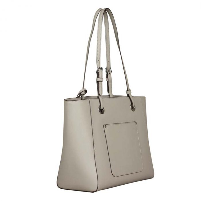 Michael Kors Medium Walsh Multifunction Tote in Pearl Grey
