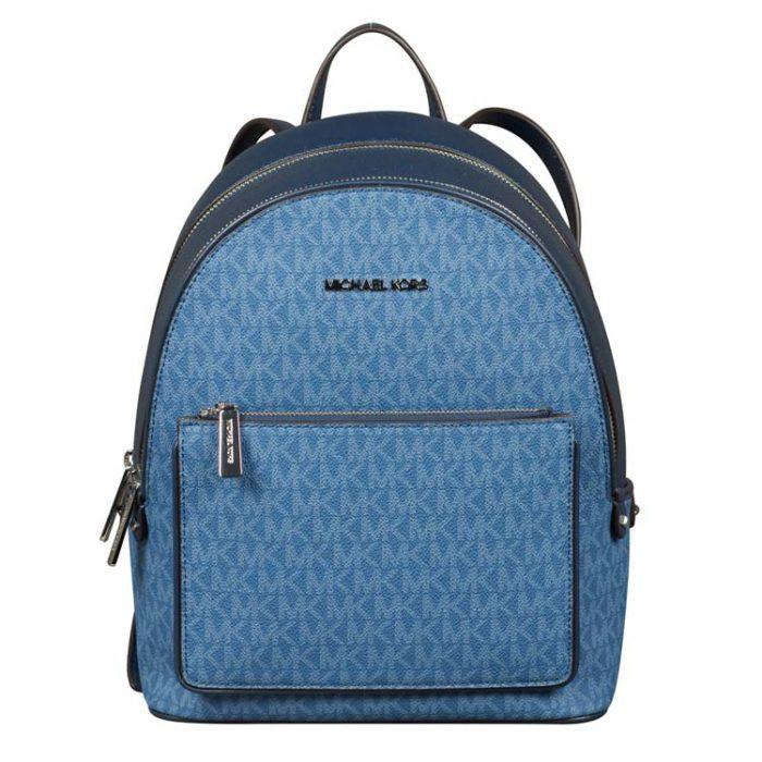 Michael Kors Medium Adina Backpack in Dark Chambray