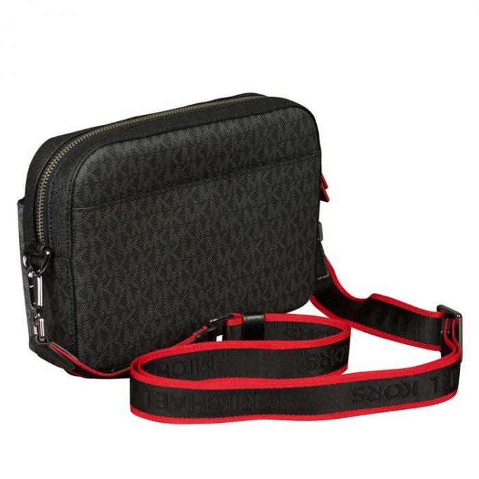 Michael Kors Cooper Utility Crossbody Bag in Black