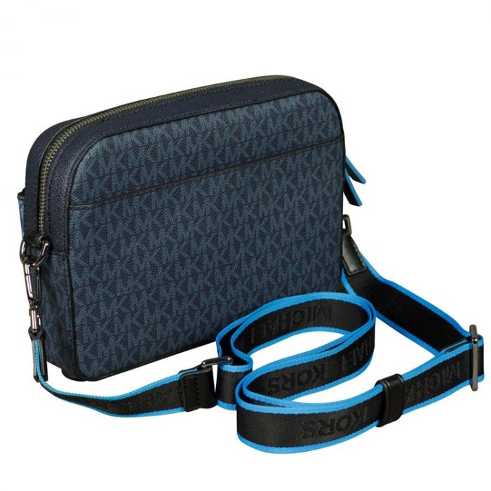 Michael Kors Cooper Utility Crossbody Bag in Admiral
