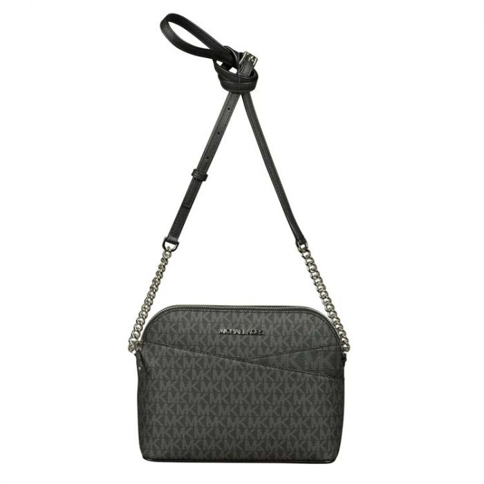 Michael Kors Medium Dome X Crossbody Bag in Black